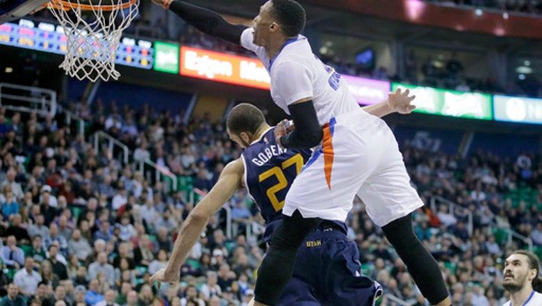 Westbrook hits game-winner as Thunder beat Jazz 97-95. (Jan 23, 2017)