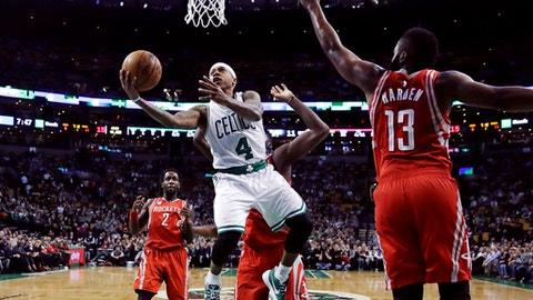 Boston Celtics vs. Houston Rockets: +15300 (153/1)