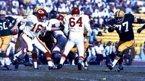 Super Bowl I: Packers 35, Chiefs 10