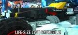 Chevrolet Unveils Life-Size LEGO Batmobile