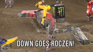Ken Roczen is Launched Through the Air