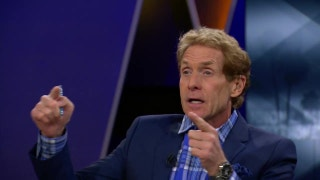Skip Bayless: That was a flagrant flop by LeBron James | UNDISPUTED