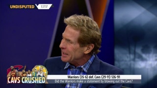 Skip reacts to LeBron and the Cavs getting blown out by Warriors   UNDISPUTED