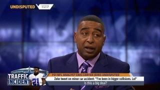 Cris Carter's personal advice for Ezekiel Elliott | UNDISPUTED