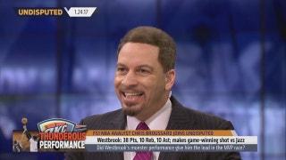 Broussard's NBA MVP Update after Westbrook's game-winner vs Jazz | UNDISPUTED