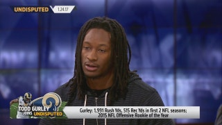 Todd Gurley on second season in NFL, 'It was very difficult' | UNDISPUTED