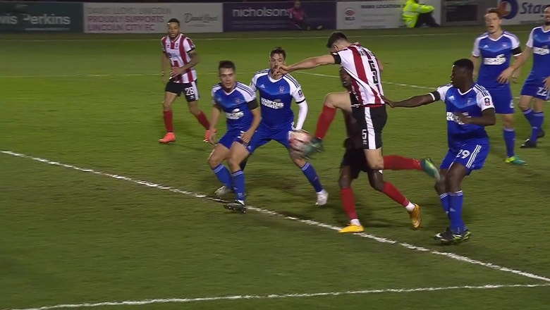 Lincoln City vs. Ipswich Town | 2016-17 FA Cup Highlights