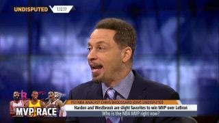 Westbook, Harden, Lebron - who is NBA MVP? | UNDISPUTED