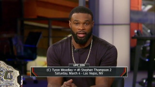 Tyron Woodley, Wonderboy on much anticipated rematch at UFC 209 | UFC TONIGHT
