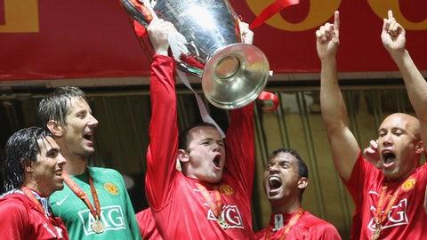 Champions League glory (May 2008)