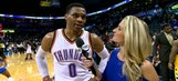 Russell Westbrook, OKC celebrates win over Nuggets