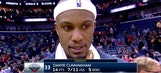 Dante Cunningham on Pelicans win over Magic