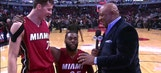 Goran Dragic, Willie Reed team up for postgame interview