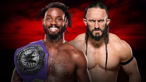 Rich Swann vs. Neville for the Cruiserweight Championship