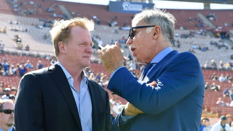 Goodell explains why the NFL didn't simply pay for a new stadium in San Diego
