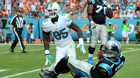 November 13: Miami Dolphins at Carolina Panthers, 8:30 p.m. ET