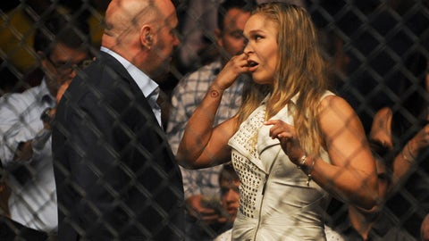 Dana White says Ronda Rousey is 'probably done' fighting