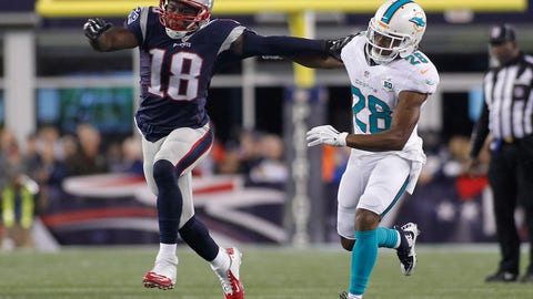 November 26: Miami Dolphins at New England Patriots, 1 p.m. ET