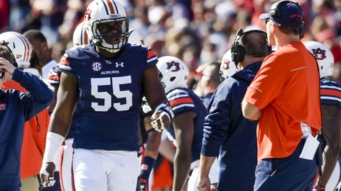 63. Atlanta Falcons: Carl Lawson, DE, Auburn