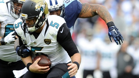 December 31: Jacksonville Jaguars at Tennessee Titans, 1 p.m. ET