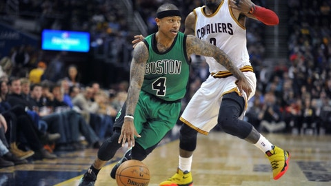 Can Isaiah Thomas be the best point guard in the series?