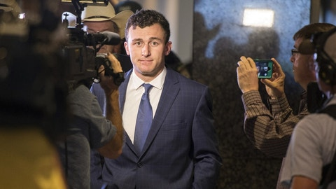 Manziel is trying to prove he's changed