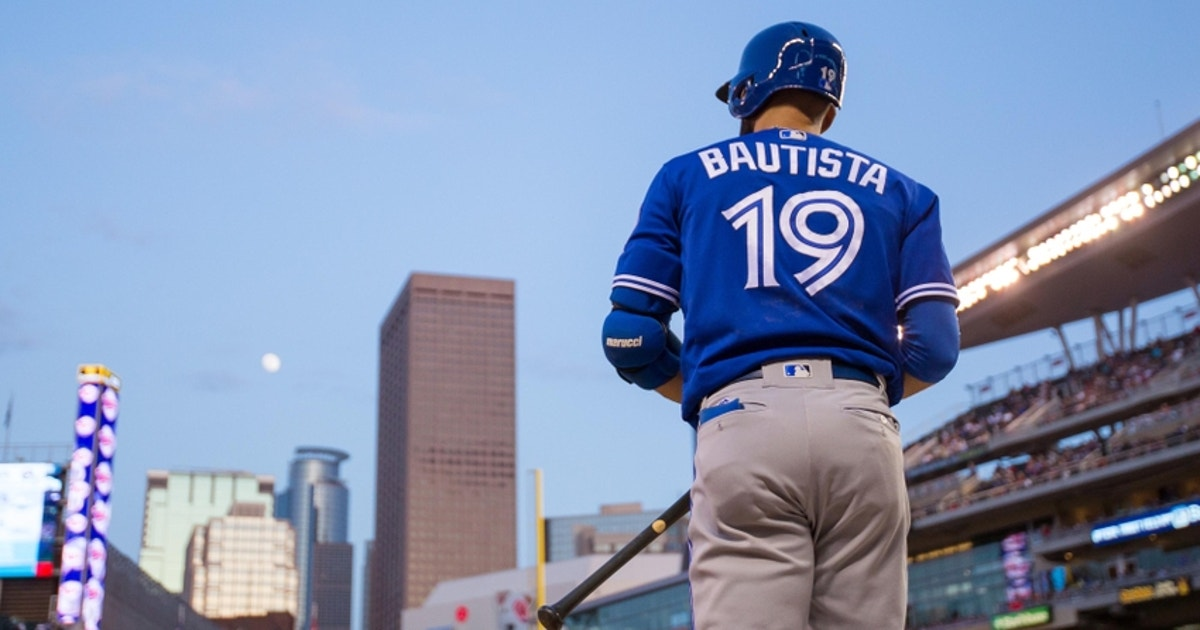 Jose Bautista and the Blue Jays ended up together, and that's all right