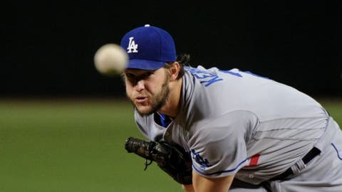 Clayton Kershaw, Los Angeles Dodgers (SP)
