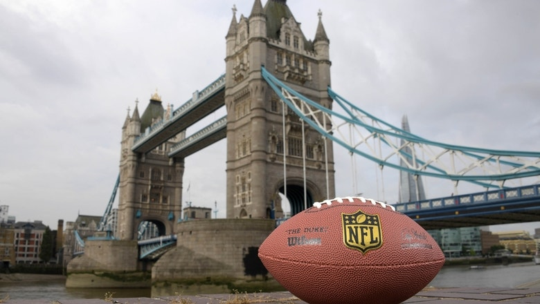 NFL confirms two London game dates for 2017 season