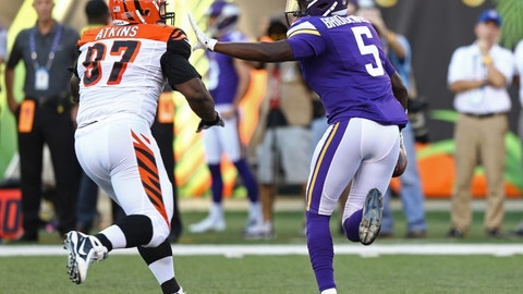 December 17: Cincinnati Bengals at Minnesota Vikings, 1 p.m. ET