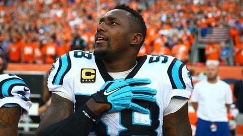 LB Thomas Davis, Panthers: 12 years