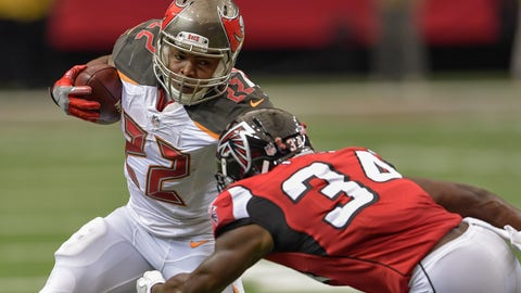 November 26: Tampa Bay Buccaneers at Atlanta Falcons, 1 p.m. ET