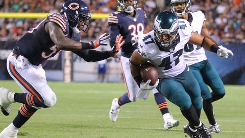 November 26: Chicago Bears at Philadelphia Eagles, 1 p.m. ET