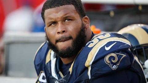 Defensive tackle: Aaron Donald, Rams ($2.5 million)