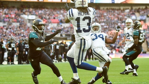 December 3: Indianapolis Colts at Jacksonville Jaguars, 1 p.m. ET