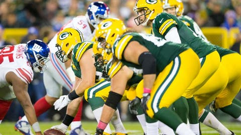 Green Bay's offensive line is great