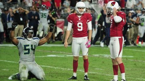 Arizona Cardinals -- Chandler Catanzaro, K