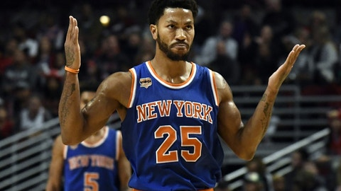 21. Derrick Rose, New York Knicks: $21,323,252