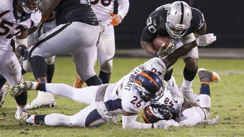 November 26: Denver Broncos at Oakland Raiders, 4:25 p.m. ET
