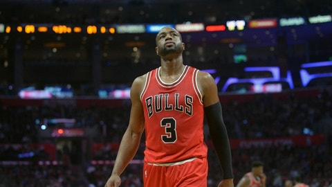 Dwyane Wade, G, Chicago Bulls