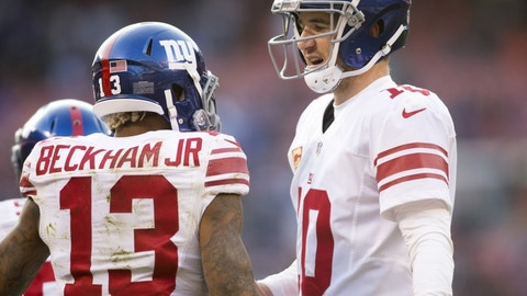 New York Giants: +1200 (12/1)
