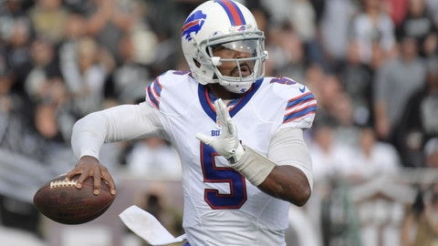QB Tyrod Taylor to the Bills: B+