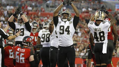 December 31: New Orleans Saints at Tampa Bay Buccaneers, 1 p.m. ET