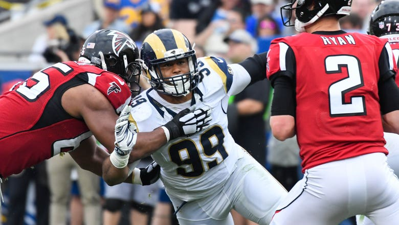 ESPN Writers Name Rams' Aaron Donald NFC West Defensive Player of the Year