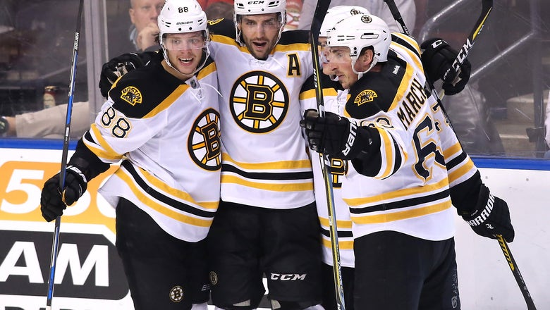 Boston Bruins Top Five Forwards Midpoint 2016-17