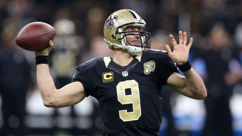 T-24. Drew Brees, New Orleans Saints ($11.9 million)