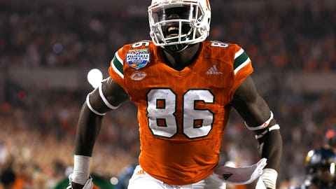 39. New York Jets: David Njoku, TE, Miami