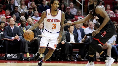 Brandon Jennings joins Wizards, playoff race after requesting release from Knicks