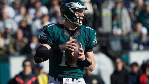Carson Wentz, QB, Eagles