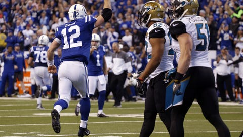 October 22: Jacksonville Jaguars at Indianapolis Colts, 1 p.m. ET